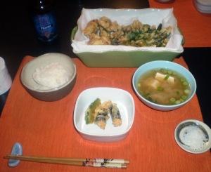 13 oct dinner