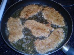 Fry the cutlets slowly