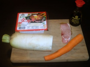 Kenchinjiru ingredients
