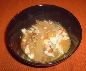 Kenchin-jiru: Pork, Tofu, Carrots and Daikon | Kanako's Kitchen