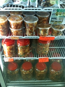 Marché d'Alimentation: The place to go if you know which specific type of Kimchi you want.