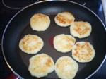 Fry the pancakes on each side
